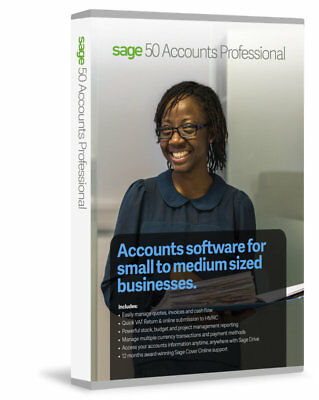 Sage 50 Accounts Professional 2017 from Top UK Sage Supplier