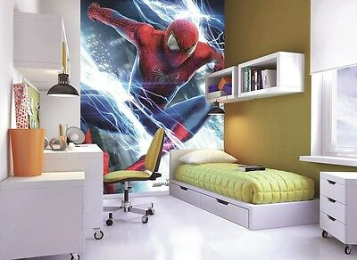 Spiderman Kids Fun Wallpaper Mural Photo Wall Paper Poster Room Bed Murals New