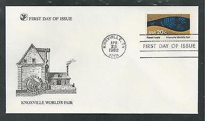 "# 2006-2009 KNOXVILLE WORLD'S FAIR 1982 ""Reader's Digest"" First Day Cover"
