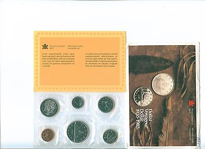 1985 CANADA Proof Like Set  Uncirculated with COA and envelope as issued PL