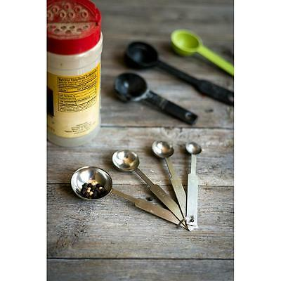 Heavy Duty Measuring Spoons 4 Pieces Stainless Steel Free Shipping Usa Only