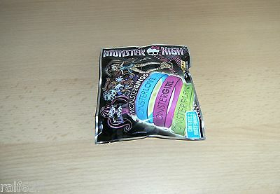 Panini - Monster High Rings Monsterrings Armbänder - 2 Stück - Ovp!