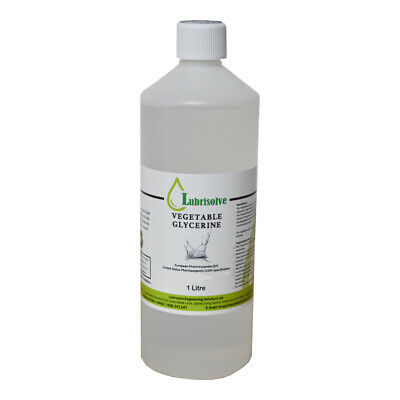 VEGETABLE GLYCERINE EP/USP FOOD/COSMETIC GRADE  -1 litre