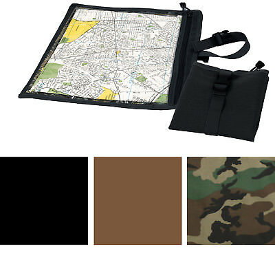 Camouflage Waterproof Map & Document Case BDU Cargo Pocket Pouch