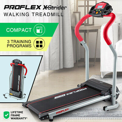 【20%OFF】PROFLEX Electric Treadmill Compact Exercise Equipment Walking