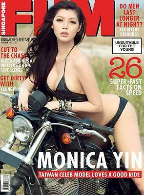 FHM SINGAPORE October 2013 MONICA YIN Hot Asian Babes Oct Holly Oaks #180