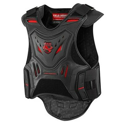 Icon Stryker Vest Motorcycle Street Bike Back Armor Chest Protector Mens L/xl