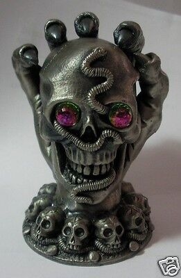 "Myth & Magic ""the Keeper Of The Skulls"" 3099 Made In The Uk  New But Faulty"