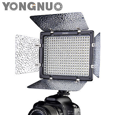 Yongnuo YN-300 II  LED Video Light for Camera Camcorder 3200k-5500k w/ IR Remote