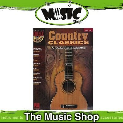 New Country Classics Ukulele Play Along Book & CD - Volume 15
