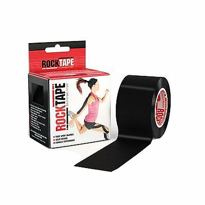 RockTape Kinesiology Tape 5cm x 5m Sports Physio Muscle Strain Injury Support