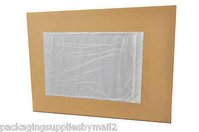 "6000 Clear Packing List slip Holders Envelope 7"" x 10"" Pouch Sticker"