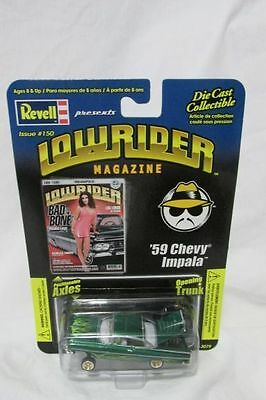 Revell Issue #150 Low Rider Magazine 1:64 Scale Die Cast '59 Chevy Impala NEW
