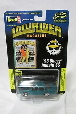 Revell Issue #140 Low Rider Magazine 1:64 Scale Die Cast '96 Chevy Impala SS NEW