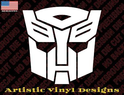Transformers Autobot decal sticker for wall, car, laptop, etc