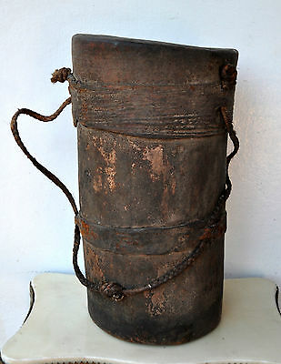 Antique Old Tribal Ritual Drum Voodoo Witchcraft Black Magic Museum Quality Rare