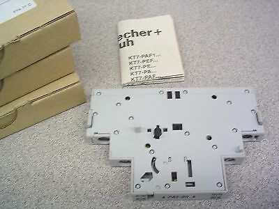 Sprechner + Schuh Kt7-Pa1-20  Auxiliary Contact Nib, Free Usa S/h