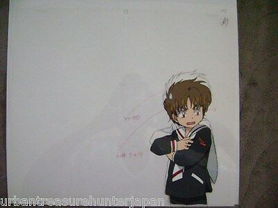 Cardcaptor Sakura Syaoran Li Anime Production Cel