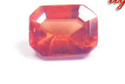 Beautiful, Flaming Red,Faceted Rhodochrosite!