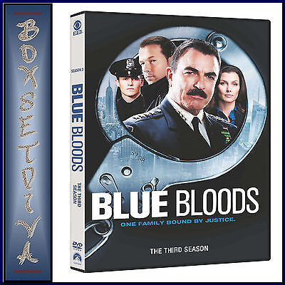 Blue Bloods- Complete Season 3  **Brand New Dvd **