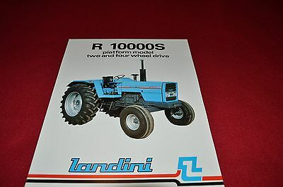 Landini R 6530F Tractor Dealers Brochure LCOH
