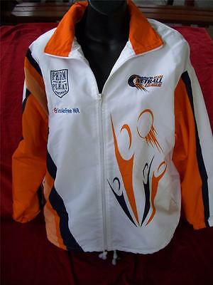 Western Australia State Netball League Track Jacket In Great Condition Size S