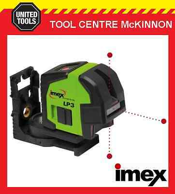 Imex Lp3 3-Dot Plumb Laser Level – 2 Year Warranty