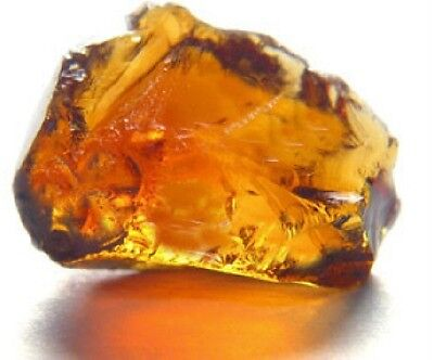 Beautiful,Tawny,Oxblood Citrine Gem Facet Rough!