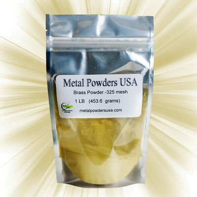 Brass Powder -325 Mesh (One Pound) USA