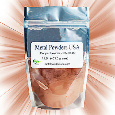Copper Powder -325 Mesh 99.4 purity (One Pound) Delivery in 1-3 Days