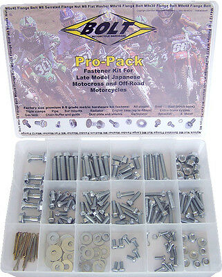 Specialist motorbike bolts pack - JAP MX - 170pc Pro size for most motorcycles