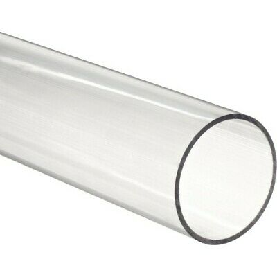 "48"" Polycarbonate Round Tube (Clear) - 1"" ID x 1-1/8"" OD x 1/16"" Wall (Nominal)"