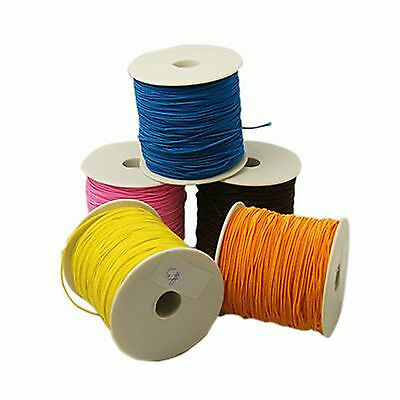 100 Yards Cotton Covered Elastic , Approx 1mm thick