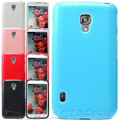 New Glossy Jelly Rubber Soft case Cover for LG Optimus L7II Dual P715