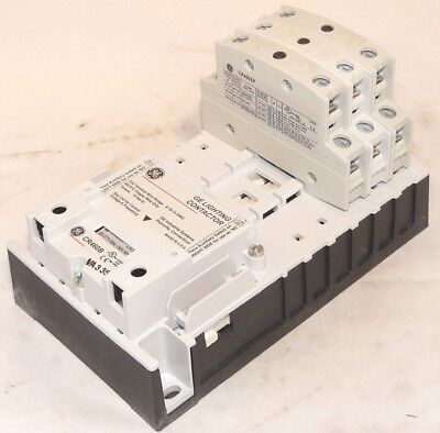 New GE CR463L03ACA 3 NC Pole 24 volt coil Electrically Held Contactor