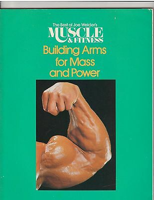 Best Of Muscle & Fitness Bodybuilding Book Building Arms For Mass +Power Big Lou