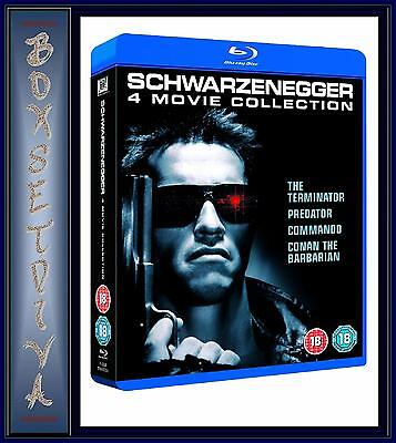 Arnold Schwarzenegger Collection - 4 Movie Collection  **Brand New Blu-Ray   **