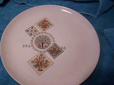 """BROCATELLE 10"""" DINNER PLATES OVENPROOF  TAYLOR SMITH & TAYLOR """"EVER YOURS""""  1+++"""