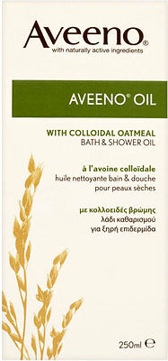 Aveeno Bath and Shower Oil - Natural Colloidal Oatmeal (250ml)