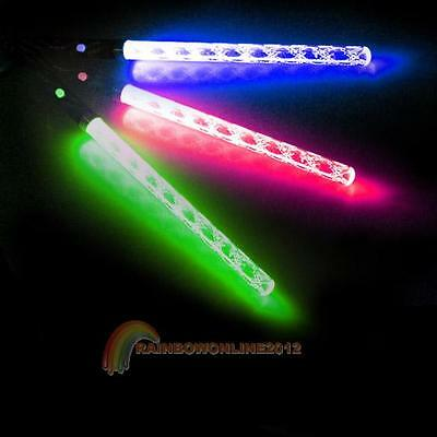 LED Magic Wand Color Changing Flash Torch Party Concert Glow Light Stick R1BO