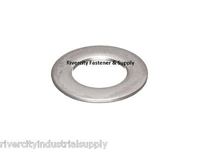 """(25) 1/4"""" AN960 Thin Flat Washer 18-8 Stainless Steel Military spec AN-960"""