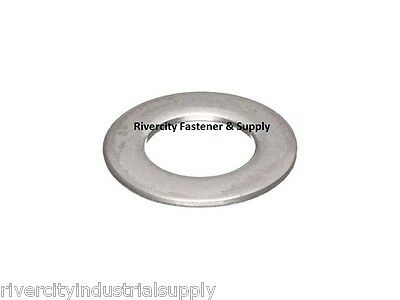 """(100) 3/8"""" AN960 Thin Flat Washer 18-8 Stainless Steel Military spec  AN-960"""