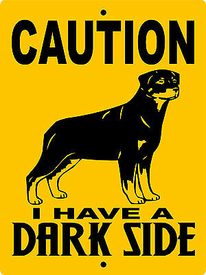 "ROTTWEILER DOG SIGN,NO TRESPASSING SIGNS, 9""x12"" ALUMINUM,VINYL GRAPHICS DSROTT1"
