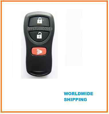 NISSAN 3 BUTTON REMOTE KEY CASE SHELL FOR XTRAIL PATHFINDER TIIDA MAXIMA