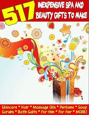 517 Homemade Gifts, Handmade Gifts For Gift Baskets, Christmas Gifts & More