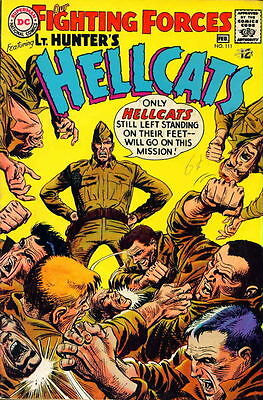 OUR FIGHTING FORCES #111 Very Good, Lt. Hunter's Hellcats, DC Comics 1968
