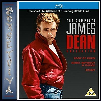James Dean - The Complete Collection - 3 Movies  *Brand New - Region Free*