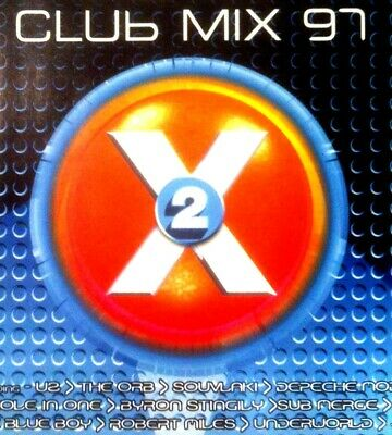Club Mix 97 Vol 2 - 2 X Cds Mixed 90S House Trance Oldskool Classics Cd Cdj Dj