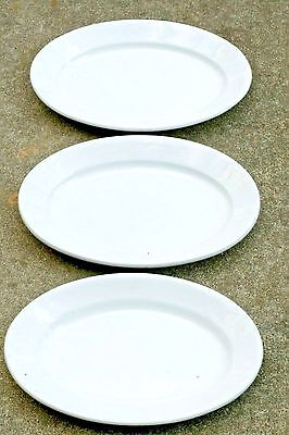 "Trio C Meakin Powell & Bishop Thick English Ironstone 15"" Oval Platter c 1870's"