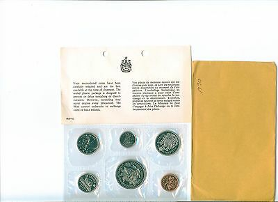 1970 CANADA Proof Like Set  Uncirculated with COA and envelope as issued PL